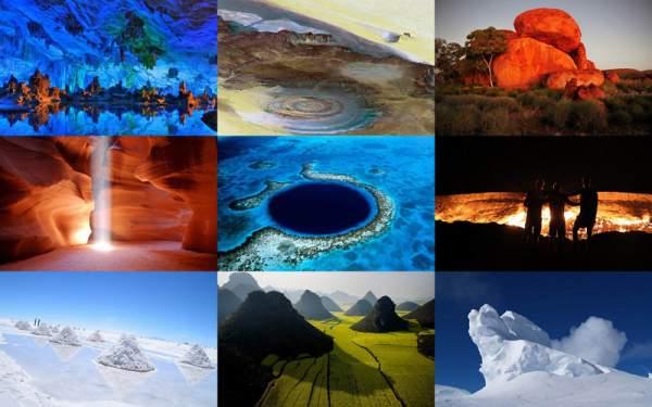 10 красивейших творений природы