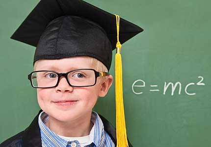Ребенок-вундеркинд, самые умные люди на планете
