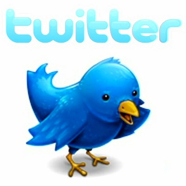 Птичка Ларри, логотип Твиттер