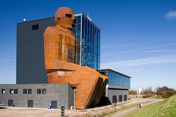 Музей человека в Нидерландах (Corpus Museum). Вход.
