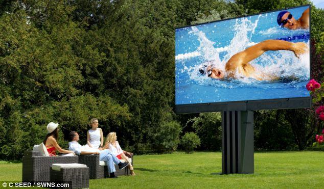 Самый большой LED телевизор от компании Porshe